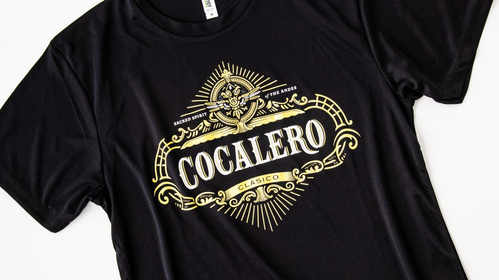 定番コカレロTシャツのデザインが最新のロゴにアップデートしました!!